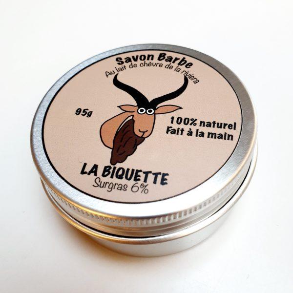 Savon barbe - La Biquette
